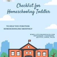 *** Homeschooling Checklist ***